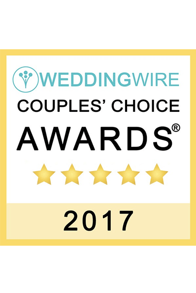 2017 Wedding Wire - Couples' Choice Awards