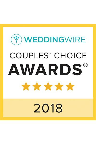 2018 Wedding Wire - Couples' Choice Awards