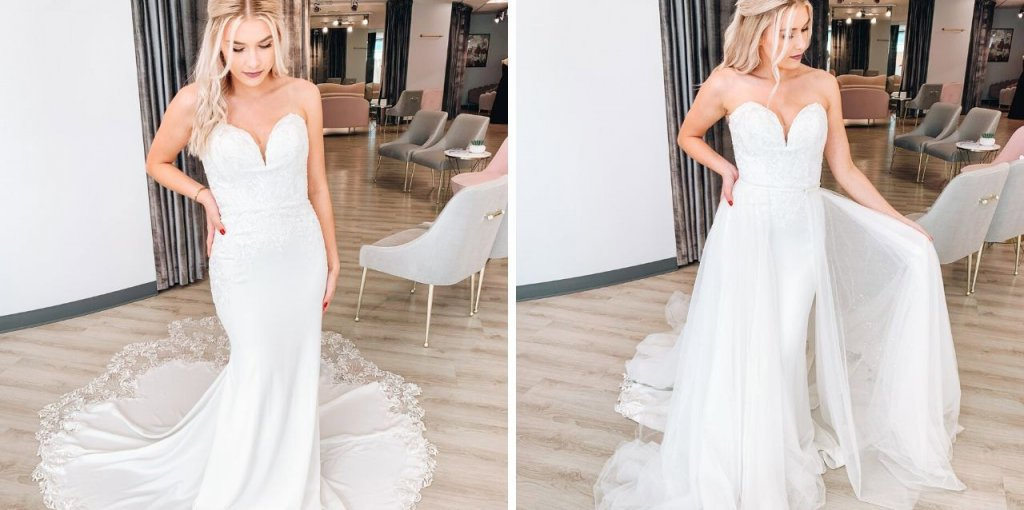 How to Wear Your Wedding Dress in a Different Season